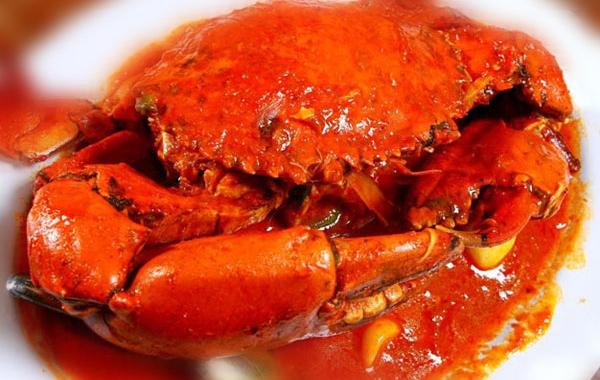 Crab With Padang Sauce